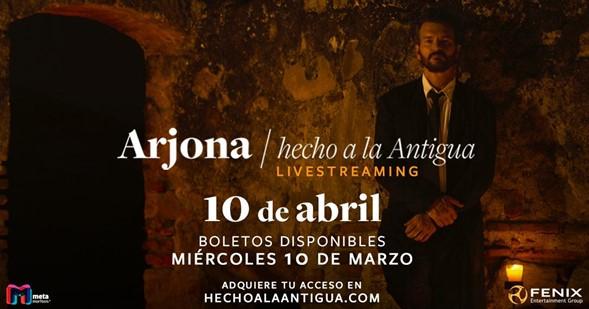"""RICARDO ARJONA """"HECHO A LA ANTIGUA"""""""